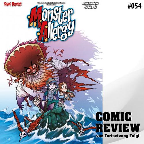 Die Monster Allergy - Die monstermäßige Gesamtausgabe 2: Episoden 5 – 8
