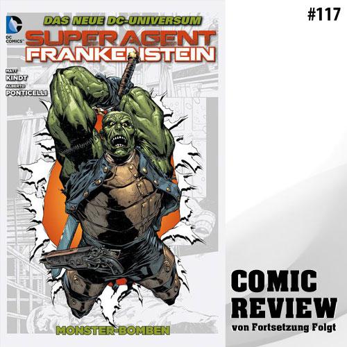 Superagent Frankenstein Bd. 2: Monster-Bomben