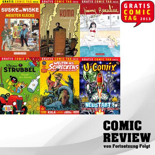 Der Gratis Comic Tag 2013