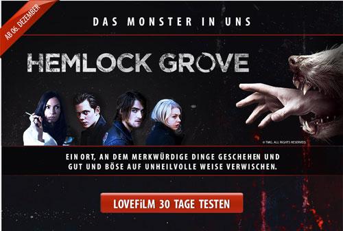HEMLOCK GROVE Alle 13 Folgen als VoD